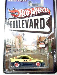 '85 Honda CR-X * 2013 Boulevard CRX Honda #HotWheels