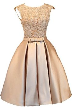 Pin by borgnyo on hochzeitskleider in 2020 Cute Formal Dresses, Pretty Prom Dresses, Stylish Dresses, Elegant Dresses, Homecoming Dresses, Vintage Dresses, Beautiful Dresses, Lace Dress Styles, Short Lace Dress