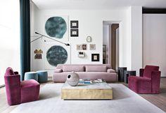 Meridiani living interiors#interiordesign