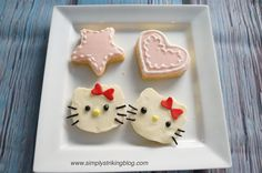Simple Way to Ice Cookies without Piping