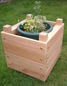 Making your own elevated planter boxes provides you many gardening possibilities. These boxes can be placed on a porch, on your deck, and even on the patio.