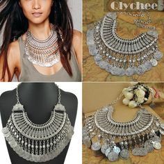 Cheap necklace supplies, Buy Quality dance wrap directly from China necklace strawberry Suppliers:    2015 Fashion Vintage Bohemia Boho Style Jewelry Ethnic Tribal Boho Coins Necklace Belly Dance Bohemian Festival Gypsy