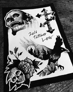 타투이스트 로우  Instagram: @tattooer_low