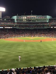 Sitting in the bleachers to watch the RedSox -v- NY Yankees And Jacoby Ellsbury playing Center Field for the Yankees. May 3, 2015 Fenway Park Boston, Massachusetts