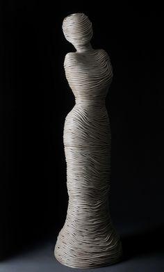 Ferri Farahmandi Ceramics - Gallery 3 Coiled sculptures