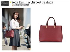 Classic Yoon Eun Hye airport fashion.