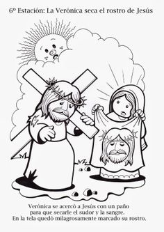 Preschool Bible, Bible Activities, Coloring Books, Coloring Pages, Jesus Cartoon, Easter Drawings, Religion Catolica, Easter Story, Catholic Kids