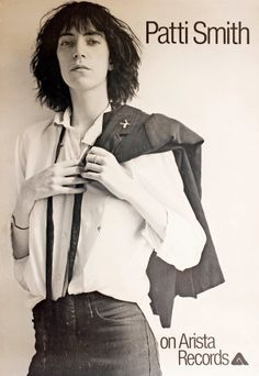 Patti Smith...love this woman.