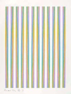 Bridget Riley    Untitled (Print for Chicago 8), 1971