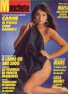 manchete 1986.luiza brunet.padre vitor.plano cruzado.moda