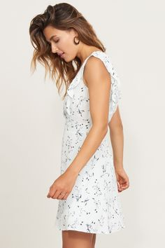 You've got flare. Fit And Flare Dress with Ruffles