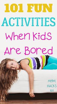 101 Fun & Free Activities For Kids - Mom Hacks 101