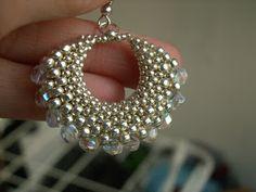 Koraliki i inne błyskotki by JoannaR: Diamentowy kolczyk...   -   Beads and other trinkets to JoannaR: Diamond earring ...