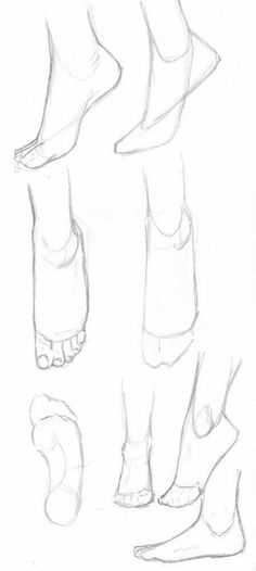Anatomy Drawing Tutorial A small collection of feet tutorials :) Hope you like it! Drawing Lessons, Drawing Techniques, Drawing Tips, Feet Drawing, Drawing Ideas, Anime Drawing Tutorials, Drawing Drawing, Drawing Body Poses, Body Drawing Tutorial