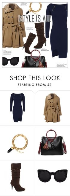 """""""Style is All"""" by mycherryblossom ❤ liked on Polyvore featuring Delalle"""
