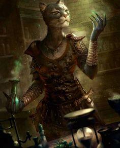 Katzmann ♀ - Alchimiste/Guérisseuse