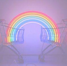 shopping cart rainbow
