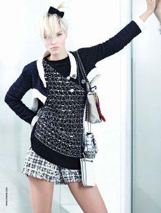 Chanel - spring summer - 2014 - Lindsay Wixon - Sasha Luss | Gold Garage