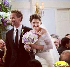 Barney e Robin ❤️❤️❤️ How I Met Your Mother, Celebrity Wedding Dresses, Celebrity Weddings, Series Movies, Movies And Tv Shows, Tv Series, Barney And Robin, Robin Scherbatsky, Ted Mosby