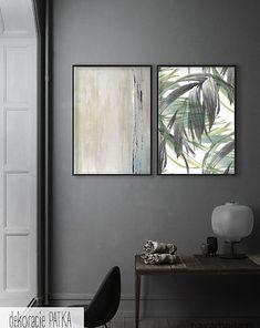 Abstrakcja - KOMPLET GRAFIK - 2 SZTUKI - malarstwo - Pakamera.pl Oversized Mirror, Flat Screen, Furniture, Home Decor, Flatscreen, Interior Design, Home Interior Design, Arredamento, Home Decoration