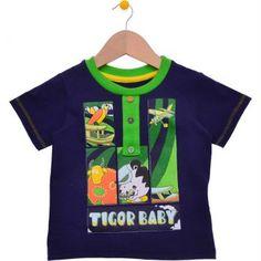 Camiseta Image Marinho Estampada Tigor T. Tigre