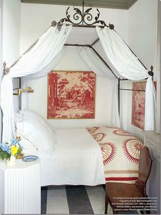 Gorgeous quilt! | At a home owned by Furlow Gatewood via for the love of a house...