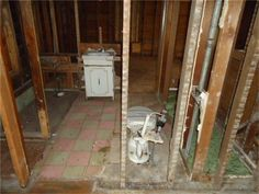 Fixer upper home in need of a complete remodel. Walls are down to the studs. Need walls, flooring and ceilings. Kitchen and bathroom have been started but need more work. Corner lot next to a park. Easy interstate access.