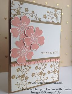 thank you hand made card images - Google Search