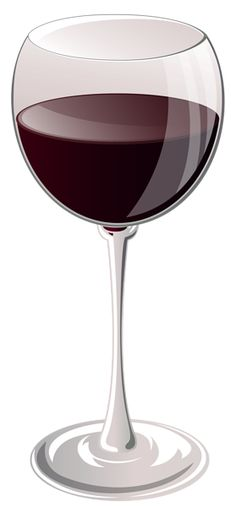 Glass of Wine PNG Clipart