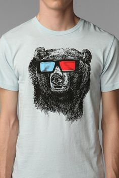 UrbanOutfitters.com > Five Crown 3D Grizzly Tee