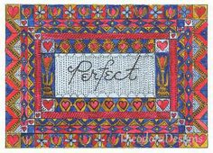 PERFECT Word Inspiration Fraktur Aceo Word by THEODORADESIGNS, $7.00