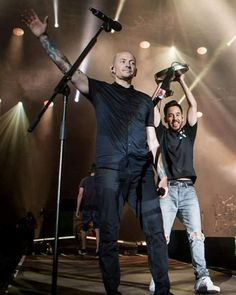 Chester and Mike❤
