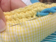 How to easily line a handmade bag in just a few simple steps.