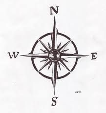 tiny compass tattoo - Google Search