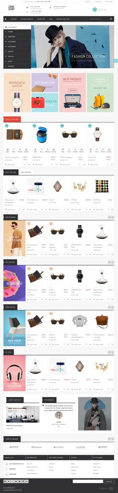 Zoneshop is an marvelous #shopping #OpenCart #theme. This template is purely designed for #retailer businesses.