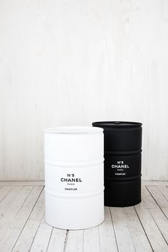 Chanel oil can