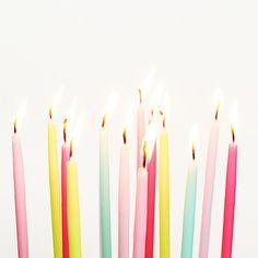 Birthday candle celebration!