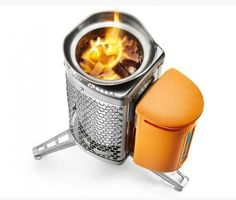 BioLite Campstove uses twigs & boils water in 4 min - also generates power to charge your iPhone :) ya know, when you're camping or just in case of an emergency. Camping Survival, Emergency Preparedness, Camping Gear, Outdoor Camping, Backpacking, Survival Tips, Survival Skills, Camping Equipment, Outdoor Gear