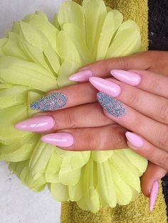 Stiletto Caviar Nails  fake nails by LexiesLittleLuxuries on Etsy.