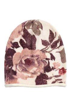 Dzianinowa czapka