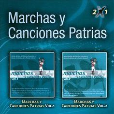Banda Del Ejercito Militar Arg - 2 X 1 Vol. 1-Marchas Y Canciones Patrias