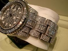 Expensive Rolex watch