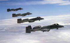 Fairchild A 10 Thunderbolts II