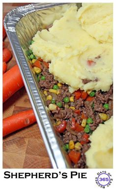 The perfect make ahead freezer meal - Shepherd's Pie | 365daysofeasyrecipes.com