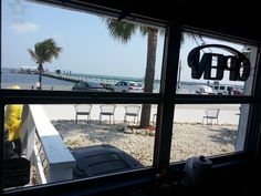 Inside Capt'n Con's Fish House looking out in #Bokeelia #Florida via Amplification, Inc. http://amplificationinc.com/ #socialmediamarketing agency