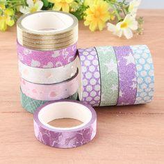 $1.72 (Buy here: https://alitems.com/g/1e8d114494ebda23ff8b16525dc3e8/?i=5&ulp=https%3A%2F%2Fwww.aliexpress.com%2Fitem%2F10-PCS-DIY-Self-Adhesive-Glitter-Washi-Masking-Tape-Sticker-Craft-Decor-15mmx3m-C%2F32753930989.html ) 10 PCS DIY Self Adhesive Glitter Washi Masking Tape Sticker Craft Decor 15mmx3m C for just $1.72