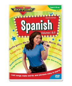 This Spanish DVD by Rock 'N Learn is perfect! #zulilyfinds