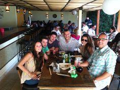 Raffa, Rick, Juliano, Eu, Gi e Alê.