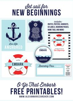 O Ye That Embark – Young Womens New Beginnings