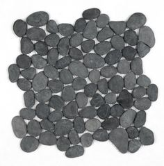 I saw a designer pick out this pebble tile for a shower. she says it's becoming popular. would you like it on the floor of your shower? I'm gonna pass, although it's pretty